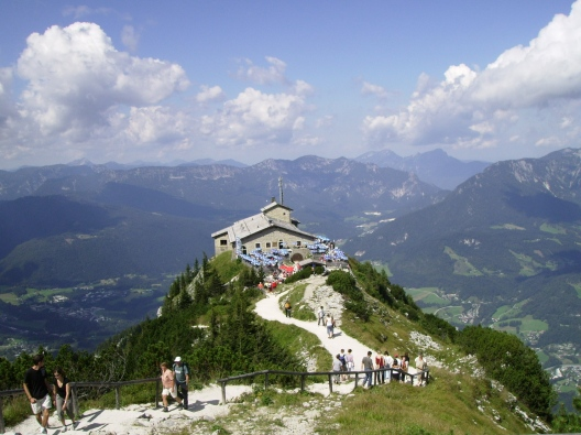 The Eagle's Nest offers an incredible 360 degree view.