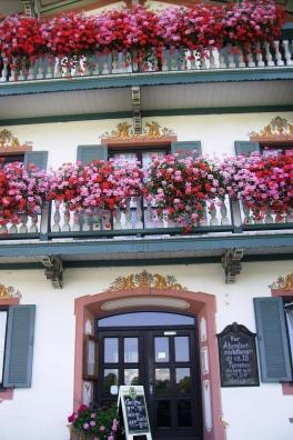Dwellings in downtown Berteschgaden