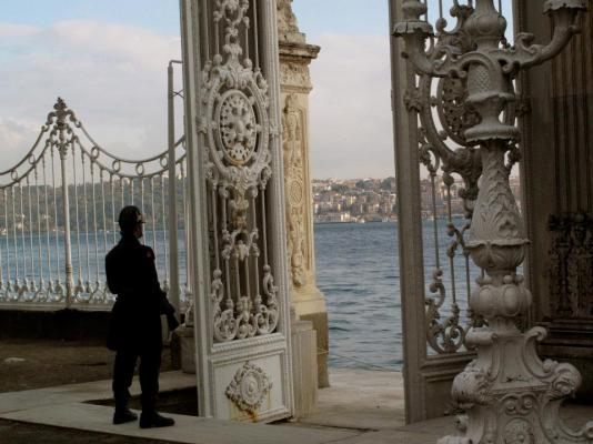 Dolmabahçe Palace grounds