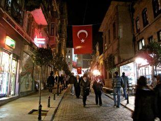 Approaching Taksim