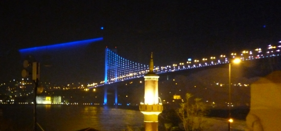 The best nightclubs in Istanbul are found at the base of Fatih Sultan Mehmet Bridge.