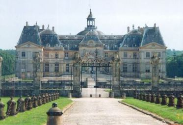"""Château de Vaux-le-Vicomte, filming location for """"Man in the Iron Mask,"""" 2001"""