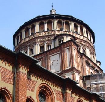 Santa Maria della Grazie, home to da Vinci's Last Supper