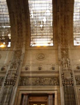 Milano Centrale arrival hall
