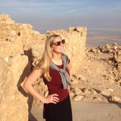 Looking forward to a great afternoon atop Massada