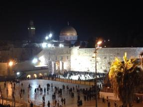 Construction of the Wailing Wall may have begun as early as 19BC and is one of the most sacred sites for Jewish prayer. — at Western Wall הכותל המערבי
