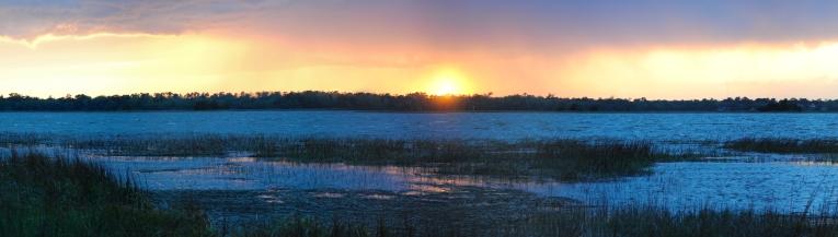 Sunset on the Ashley