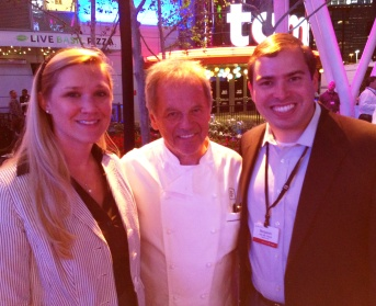 Dinner with Wolfgang Puck