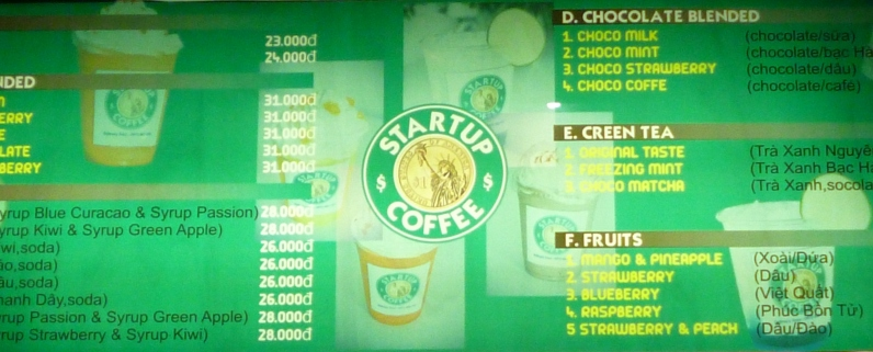 Starbucks is your hangover remedy? Try StartUp!