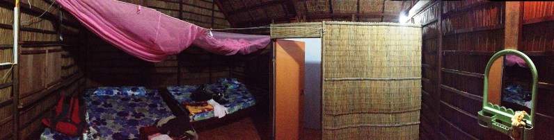 Home for the night