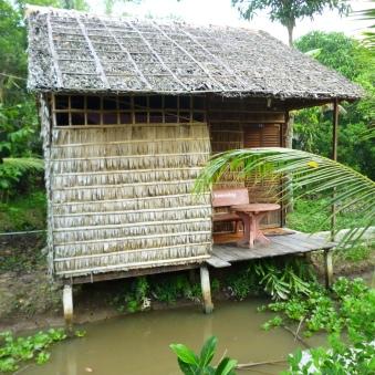 Our cozy little hut
