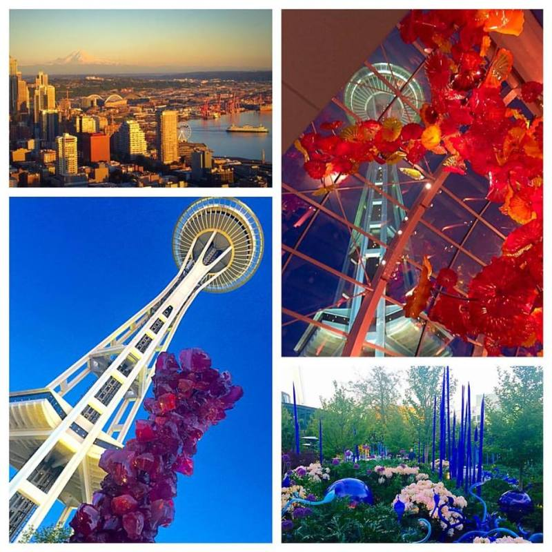 Chihuly Garden and Glass at the Seattle Space Needle