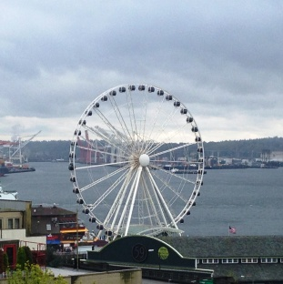 The Seattle Great Wheel at Pier 59