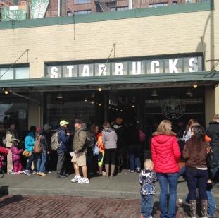 Starbucks' flagship store