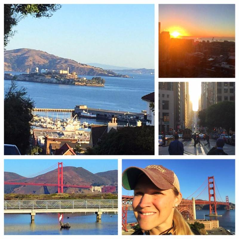 San Francisco jogging