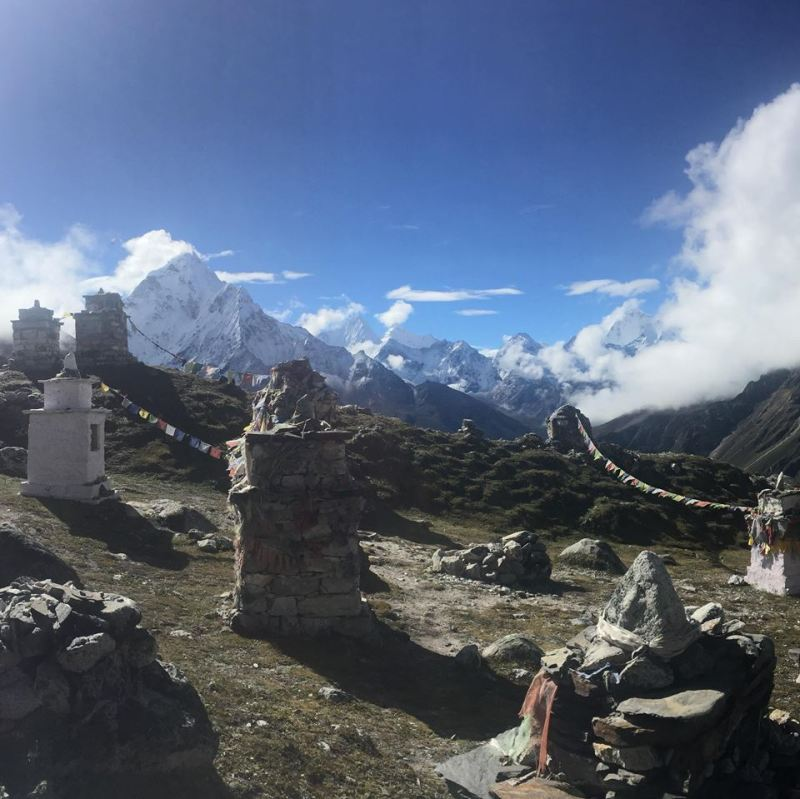 Memorial to those who perished on Everest