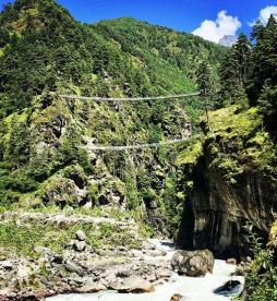 Highest suspension bridge