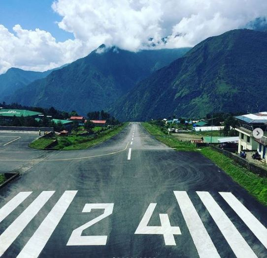 One of the shortest runways in the world