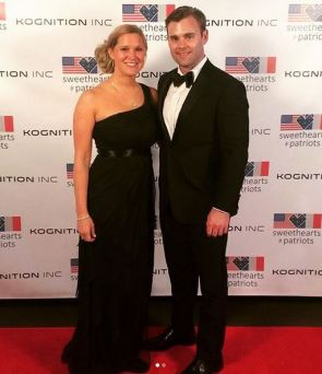 DAR's annual gala honoring servicemen like this dashing date